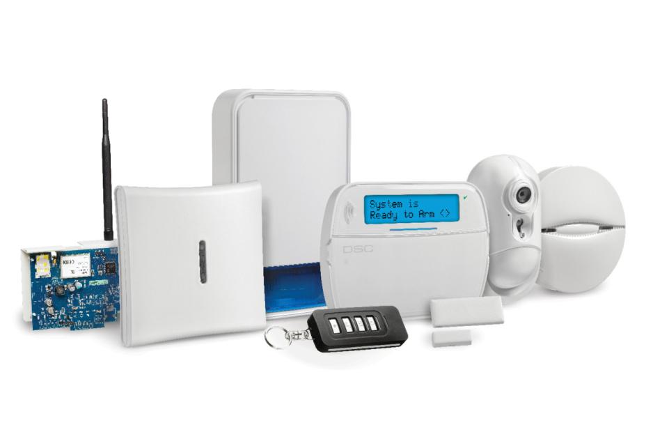 Imagem ilustrativa de equipamento de alarme de intrusão, sistema de alarme para proteção do perímetro