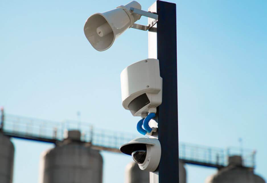 Imagem ilustrativa de alarme de intrusão, sistema de alarme para proteção do perímetro