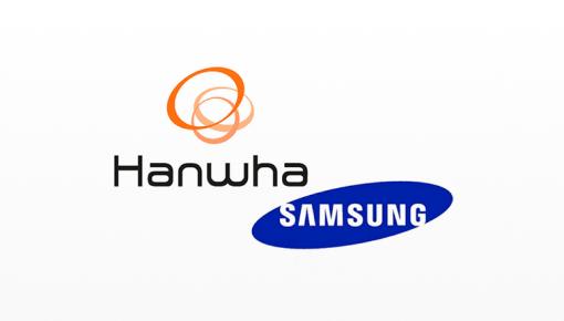 Imagem da Hanwha, marca da divisão de tecnologia da Samsung que desenvolve produtos de precisão da mais alta qualidade para as indústrias aeroespacial, de defesa, energia e segurança