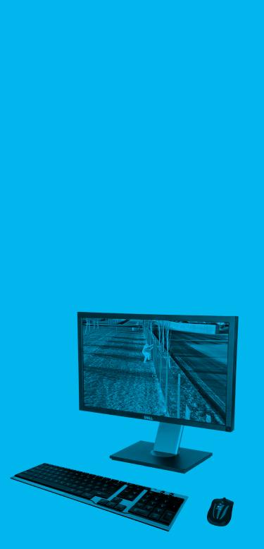 Imagem ilustrativa de computador com sistema de segurança inteligente, que reduz a necessidade de supervisão humana