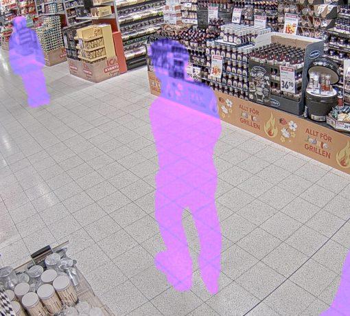 Imagem ilustrativa de sistema de segurança inteligente, que reduz a necessidade de supervisão humana