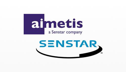 Logotipo da Senstar, anteriormente conhecida como Aimetis